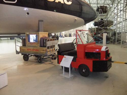 The Jet Age baggage trolley