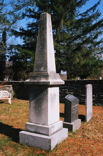 Grave of Lucy Anderson and Henry Dowie