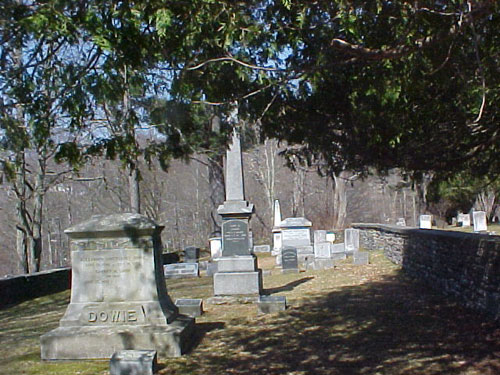 The Dowie plot in Andes Cemetery