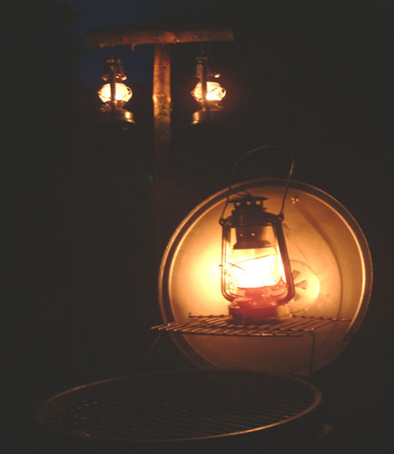 Julie's home-made reflector