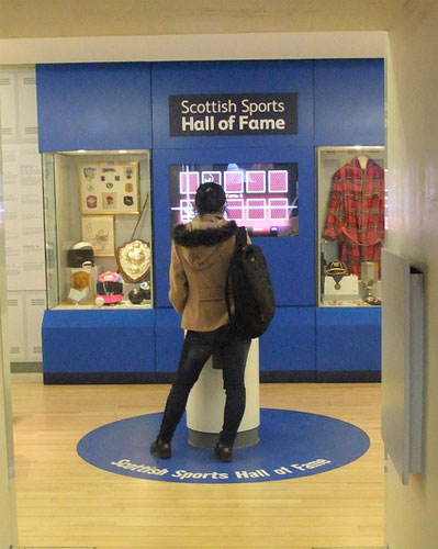 The Scottish Sports Hall of Fame, in the Scotland: A Changing Nation Gallery