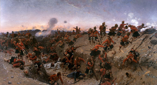 The Storming of Tel El Kabir by Alphonse Marie de Neuville