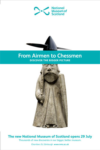 Airmen to Chessmen: one of the campaign images
