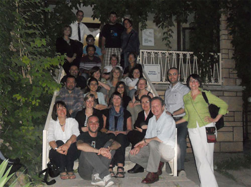 The Gaziantep Training & Youth Association and Arch Network Exchange Participants
