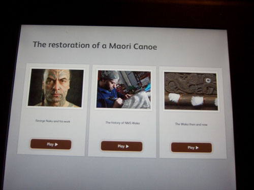 Films about the Maori canoe