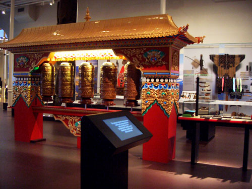 Prayer wheels and the film about their making