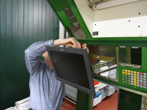 Installing the Air Traffic Control equipment