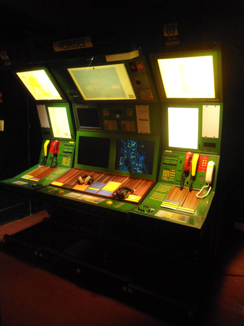 Completed installation of Air Traffic Control at National Museum of Flight