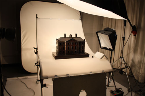 Photography studio at the National Museums Collections Centre at Granton