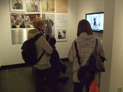 Watching the exhibition video