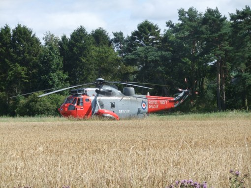 Sea King SAR helicopter will be at the Airshow at East Fortune