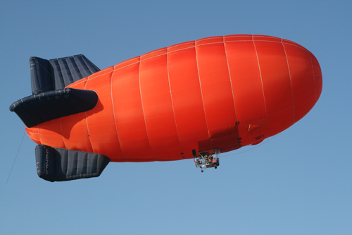 Lindstrand Hot Airship will be displaying at the Airshow at East Fortune