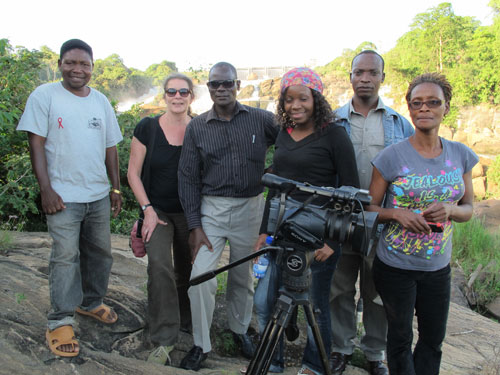 On the road with the Malawi Broadcasting Corporation crew
