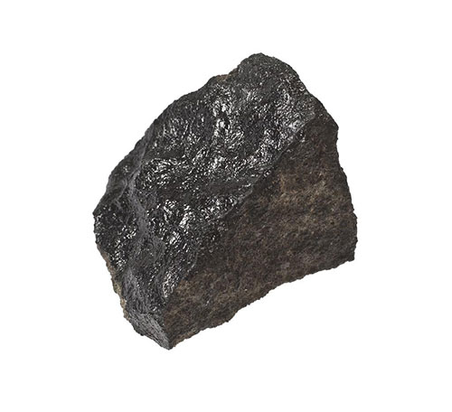 The Martian meteorite, Peter's favourite object in the collection
