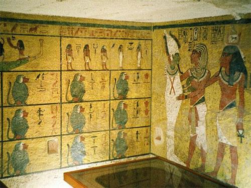 The tomb of Tutankhamun
