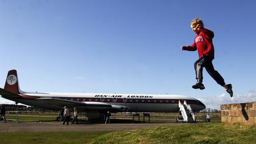 de Havilland Comet 4c, National Museum of Flight, East Fortune