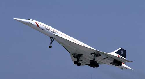 British Airways Concorde in 1986 © Eduard Marmet
