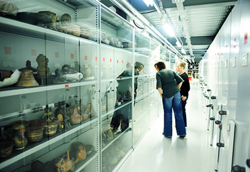 Store room in the National Museums Collection Centre