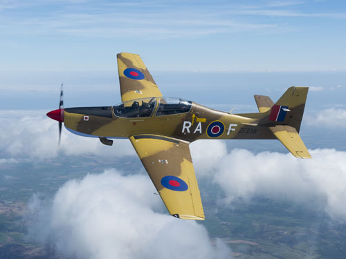 The RAF Tucano team will be part of the air display at the Airshow, National Museum of Flight, East Fortune on Sat 27 July 2013