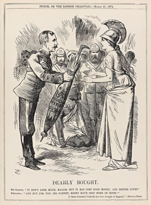 Illustration from Punch, 21 March 1874