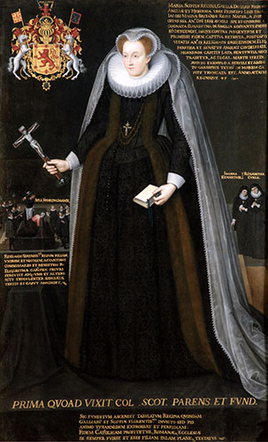 Mary, Queen of Scots. © Blairs Museum Trust.