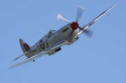 Battle of Britain Memorial Flight Spitfire MK356 © Crown copyright