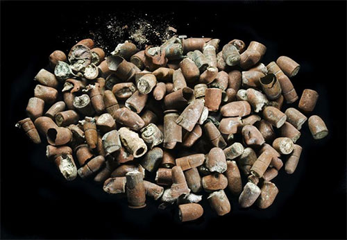 Bullets and shell casings