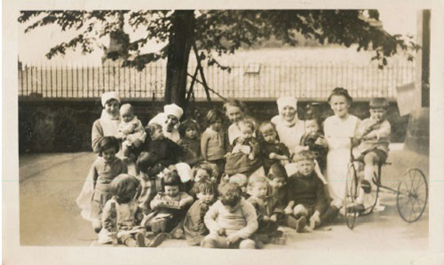 The Staff and Children of Lochee Nursery School, Dundee