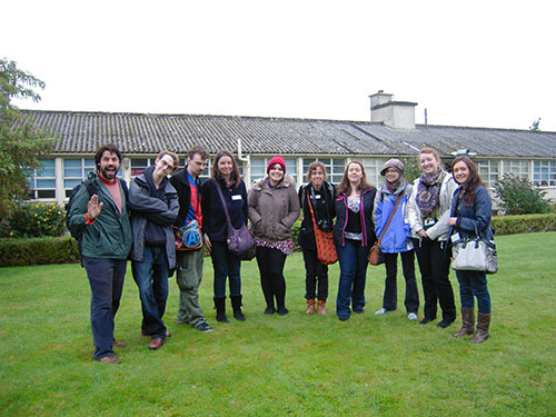 The group outside The Roslin Institute