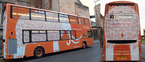 Murdo the Mammoth bus