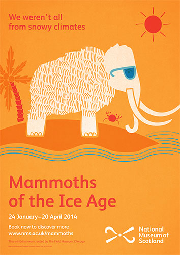 Not all mammoths were from snowy climes