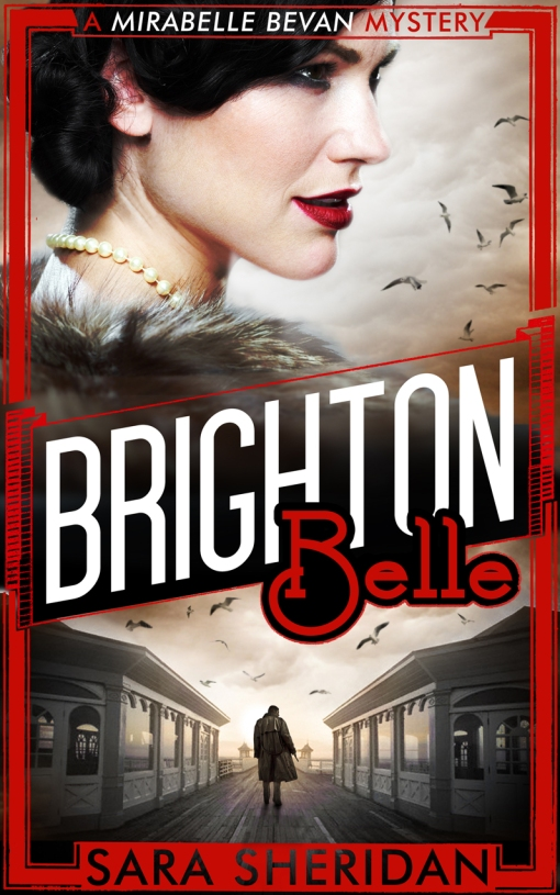 Cover of Sara Sheridan's novel Brighton Belle