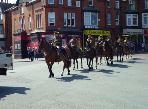 Lancashire Hussars, First World War Cavalry re-enactment troop