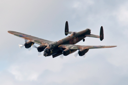 RAF Battle of Britain Memorial Flight Avro Lancaster Bomber.