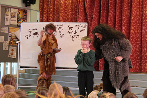 The Macastory crew bring Ice Age mayhem to Knightsridge Primary