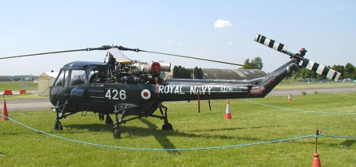 Privately owned Westland Wasp at the Classic-Jet Air Show, Kemble, England, in 2003.
