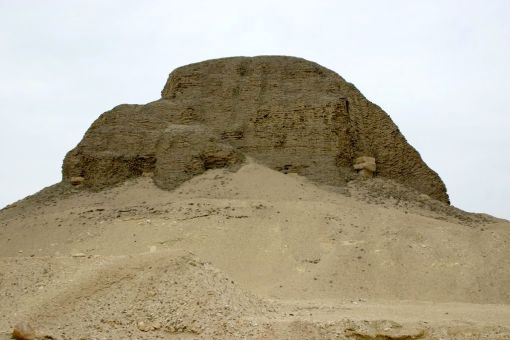 A pyramid at Lahun
