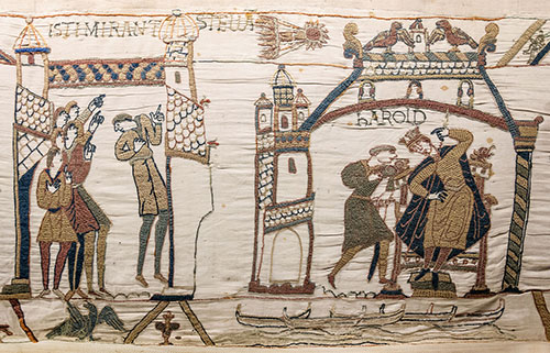 Halley's Comet in the Bayeux Tapestry